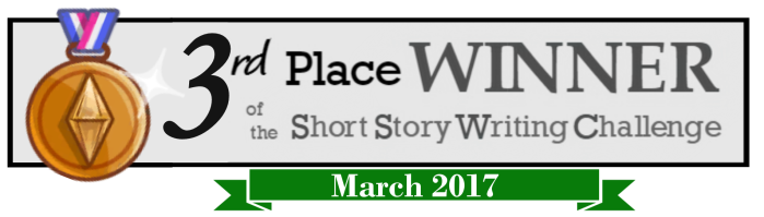 3rd place March 2017