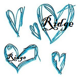 hearts scribble-hearts-blue-drawingsridge