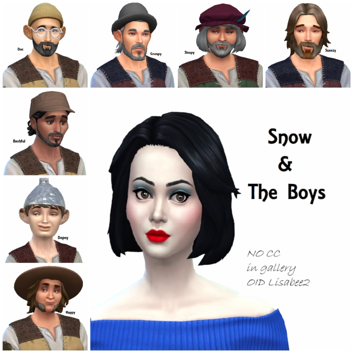 1 snow and the boys