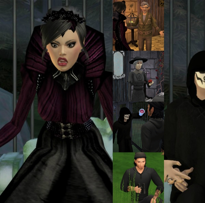 collage evil