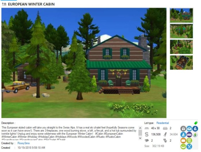 roxxy cabin