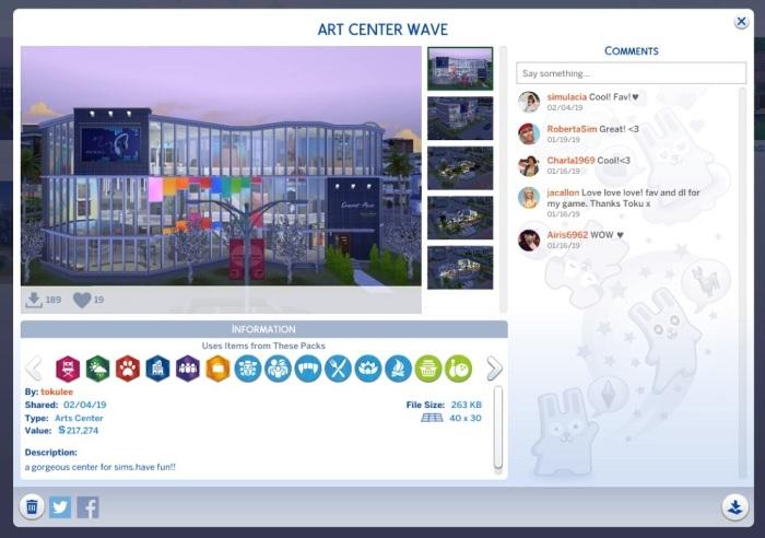 toku art wave center