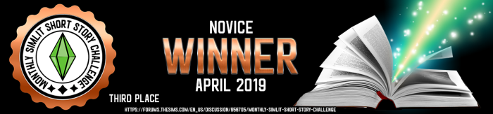 Novice Copper Winner