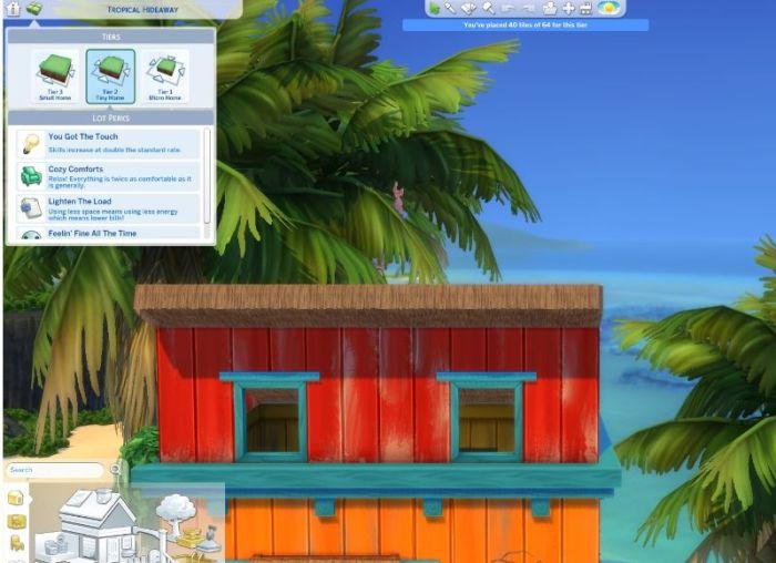 tropical hideaway tier 2